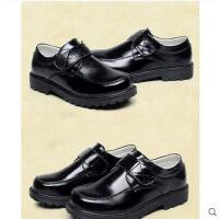 演出皮鞋  礼仪皮鞋  男童皮鞋 儿童牛皮软皮鞋亮面光鞋学生演出礼仪西装皮鞋