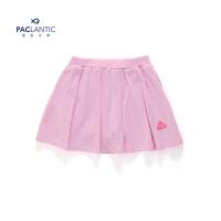 派克兰帝品牌童装 夏季女童炫彩可爱针织短裙