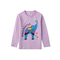 派克兰帝童装 男童女童图案系列长袖T恤