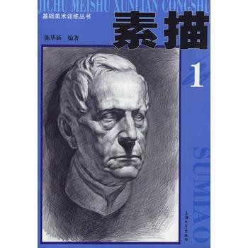 素描1——基础美术训练丛书 陈华新 9787810589567 上海大学出版社