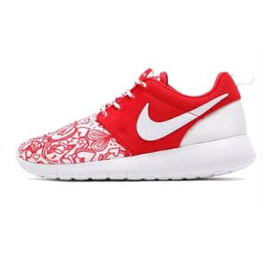 耐克 NIKE ROSHE ONE 花卉 情人节 女子运动鞋677784-605
