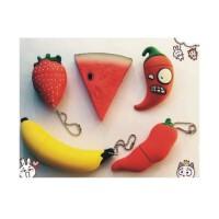陆捌壹肆 8g16g32gu盘迷你水果西瓜草莓香蕉个性U盘可爱创意男女生优盘 (一个装)