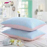 [当当自营]维众家纺 舒眠枕2只装彩条 48*74cm