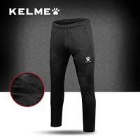 KELME卡尔美足球运动训练裤收腿裤男士秋冬季针织长裤小脚裤加绒
