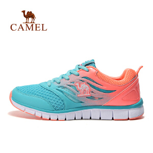 camel骆驼户外越野跑鞋 女款减震跑步鞋透气运动鞋
