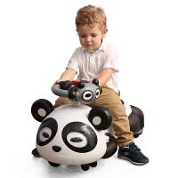 A+B 丽保健 儿童功夫熊猫扭扭车 健身车 滑行车 音乐灯光静音轮扭扭车