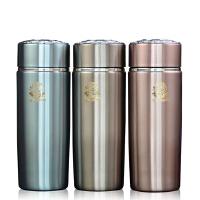 [当当自营]思宝 双龙A3不锈钢真空保温杯茶水杯办公杯礼品杯450ml 玛瑙红