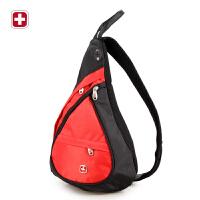 瑞士军刀多功能斜挎包时尚休闲水滴包 手拎包  中性 SA-9966