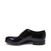 PRADA普拉达牛皮材质系带设计男士商务休闲鞋