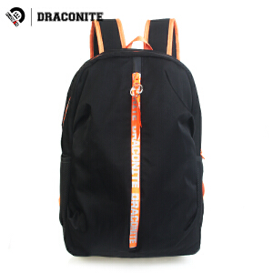 DRACONITE韩风双肩包男女学生街头时尚字母潮流休闲书包背包11675