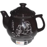 灵丹 自动养生壶LD-25 陶瓷煎药壶2.5升 中药壶 保健壶 养生煲 不粘发热体 带峰鸣