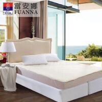 富安娜家纺 秋冬床护垫床褥保护垫褥子羊毛保暖保护床垫橡筋款
