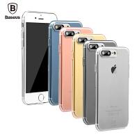 倍思 简系列iphone7 plus手机壳苹果7 4.7套透明硅胶超薄i7软胶新款防摔保护壳
