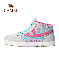 camel骆驼户外舒适女板鞋 耐磨防滑运动板鞋