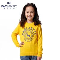 派克兰帝品牌童装 秋装春装男童女童卡通印花套头线衣