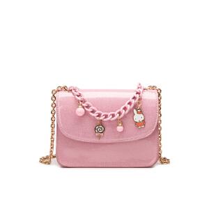 Miffy 米菲2016秋新款斜挎包 休闲时尚单肩包 链条女包小包包潮