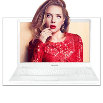 三星(SAMSUNG)270E5K-X0D 15.6英寸笔记本电脑(酷睿i7-5500U 内存8G 硬盘1TB 显存2G DVD刻录 WIN10 蓝牙4.0)15.6寸游戏影音笔记本电脑 象牙白