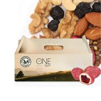 韩国进口山野 M&F 每日营养混合搭配坚果蓝莓版 20克/袋 30袋装