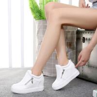 【支持礼品卡支付】女鞋低帮鞋韩版松糕鞋隐形内增高休闲鞋百搭运动鞋
