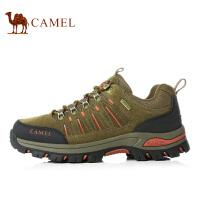 camel骆驼户外徒步鞋男女系带减震徒步鞋