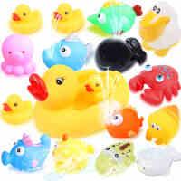 小黄鸭宝宝洗澡玩具儿童洗澡小鸭子游泳婴儿玩具宝宝 水上戏水玩具