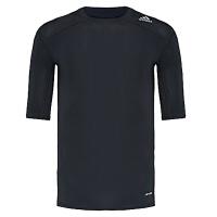 adidas阿迪达斯2016新款男子运动全能系列紧身T恤AJ4966