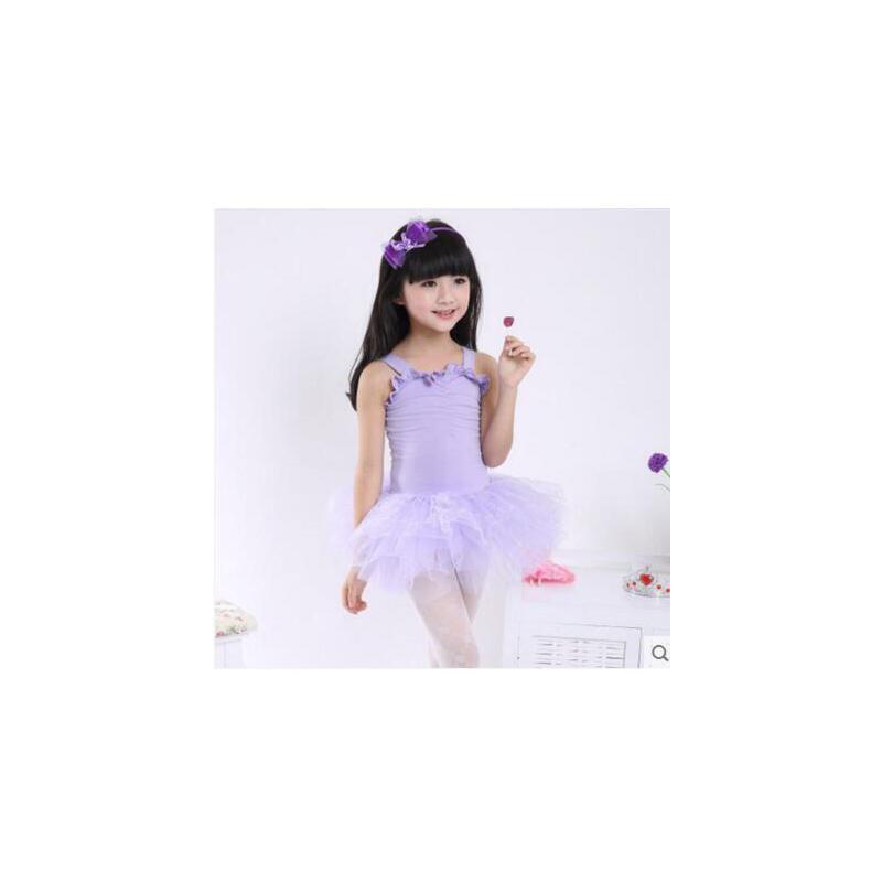 时尚舒适纱裙吊带芭蕾舞裙儿童舞蹈服装童舞蹈裙演出服练功服表演服