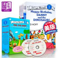I Can Read 英文绘本汪培�E书单 英文绘本 儿童英语绘本 第一阶段 12本 附音频2CD 儿童书2岁学习英语书