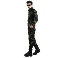 配发武警真人cs07特种兵迷彩服套装男户外丛林战术作战服07CS装备服饰猎人迷彩外军 军迷