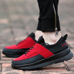 罗兰船长  时尚休闲帆布鞋英伦学生板鞋