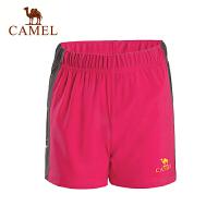 caeml骆驼户外情侣功能短裤 透气舒适男女运动短裤