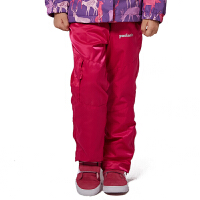 派克兰帝 儿童三合一徒步长裤女童冬季冲锋裤