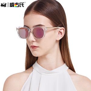 威古氏太阳镜女 防紫外线款大框修脸偏光墨镜太阳镜