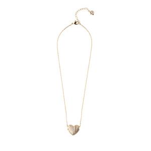 SWAROVSKI/施华洛世奇 金色心形水晶吊坠项链 5190269 支持礼品卡支付