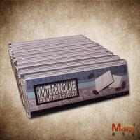 西非白巧克力 巧克力排 纯可可脂 500克 [美乐臣出品]