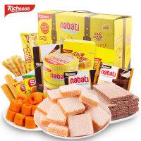 [当当自营] 印尼进口 丽芝士 Richeese 系列食品(JOYBOX综合零食箱)1.36kg