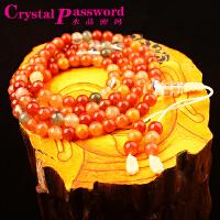 水晶密码CrystalPassWord天然巴西福禄寿佛珠手链SJMM3-046