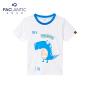 派克兰帝童装 2016夏季新款男小童可爱海豚卡通短T 男童短袖T恤
