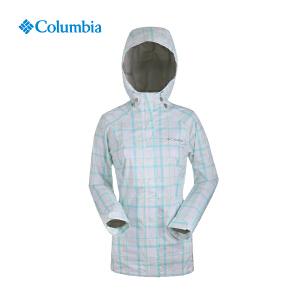 【领卷满400减100】Columbia哥伦比亚户外女款机织休闲外套防水透气单层冲锋衣ER2498