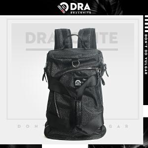 【支持礼品卡支付】DRACONITE潮流韩版街头背包 男青年旅行背带手提两用双肩包12135