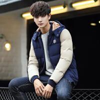 冬季男装羽绒服 男士新款修身短款羽绒服潮韩版男装羽绒外套