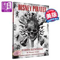 预售 加勒比海盗终极珍藏集 英文原版 英文版 Disney Pirates: The Definitive 设定集 电影画册
