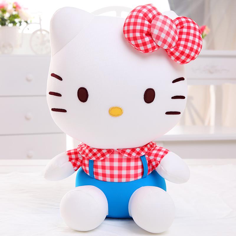 hello kitty公仔 可爱kt猫咪凯蒂猫玩偶布娃娃 生日礼物女生_不限格子