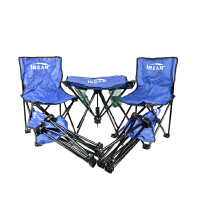 IBEAR/伊贝尔 户外野营便携式折叠桌椅套装 分体五件套 X-039