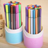 真彩可水洗无毒水彩笔套装 儿童涂鸦绘画彩色画笔桶装12 24  36色