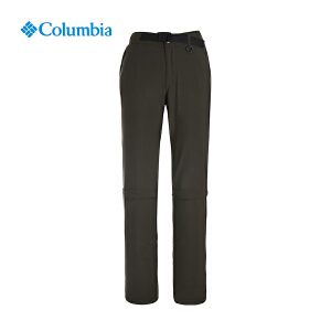 【领卷满400减100】Columbia哥伦比亚户外女款春夏季可拆卸两截速干长裤PL8036