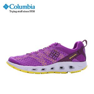 【领卷满400减100】Columbia/哥伦比亚2017春夏女款轻便透气缓震溯溪鞋DL2195