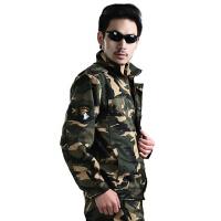 配发武警真人cs07特种兵迷彩服男套装男款户外军迷野战作训服劳保工作服战术特种兵军迷服饰