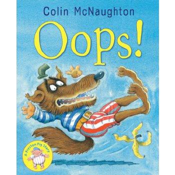 小猪普莱墩儿的故事绘本 儿童图画书 柯林·麦克诺顿的代表作colin