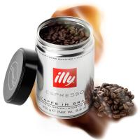 【春播】意大利知名品牌 illy深度烘焙咖啡豆 250g